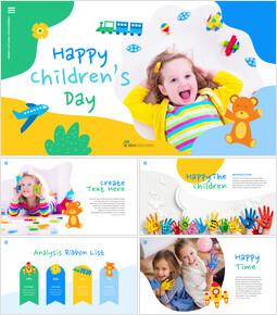 Happy Children\'s Day Easy Slides Design_00