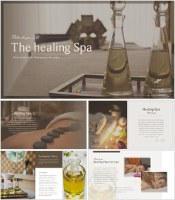 Healing Spa Best PPT Templates_00