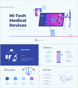Hi-Tech Medical Devices PPT Background PowerPoint_00