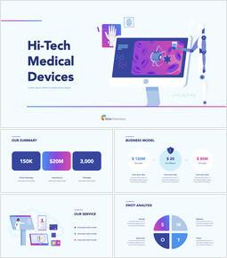 Dispositivi medici ad alta tecnologia PPT PPT Keynote_00
