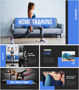 Home Training Proposal Presentation Templates_00