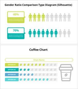 가로 그래프 Infographic 다이어그램_00