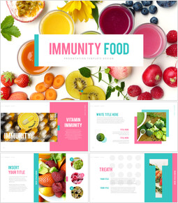 Immunity Food Business Presentation PPT_40 slides