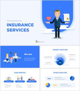 保険サービスの提案資料 PowerPointのテンプレート_00