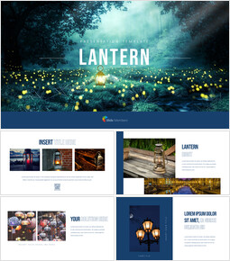Lantern Presentation Templates Design_40 slides