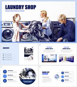 Laundry Shop Keynote Templates_00