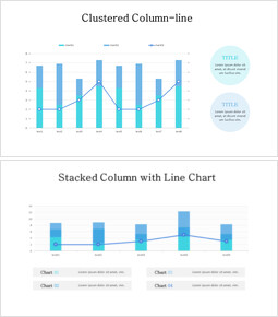 Line and Stacked Column Mix Chart_00