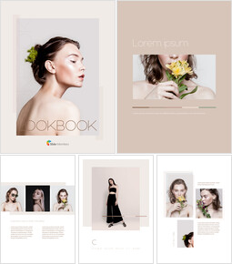Look Book Design Best PPT Design_00