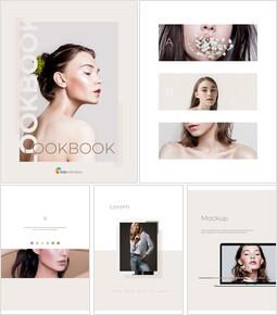 룩 북 디자인 심플한 구글 템플릿_00