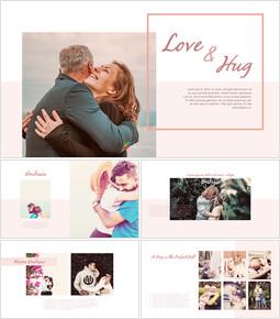 愛と抱擁 プレゼンテーションPPT_40 slides