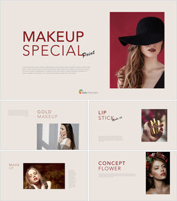 Makeup Special Theme Keynote Design_00