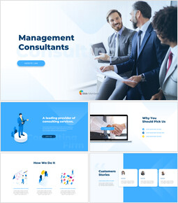 Management Consultants Animation PPT Download_15 slides