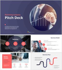 Presentazione dell\'animazione del Pitch Deck di marketing_00