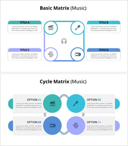 Matrix Infographic Diagram (Music)_00