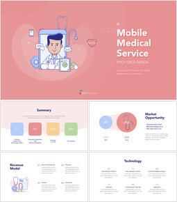 모바일 의료 서비스 PPT의 키노트_00