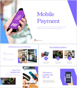 Mobile Payment PowerPoint Design Download_00