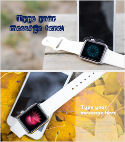 Mockup PowerPoint Templates (SmartWatch)_00