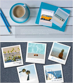 Mockup Templates for Polaroid Pictures of Summer Trips_00