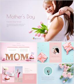 Mother\'s Day Google Slides Themes for Presentations_40 slides