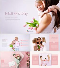 母の日 PPTプレゼンテーションの概要_40 slides