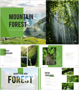 Mountain & Forest PowerPoint Templates for Presentation_00