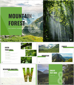 Mountain & Forest Simple Google Templates_00