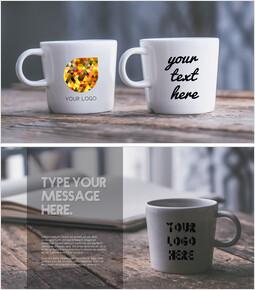 Mugcup Mockup PPT Templates Design_10 slides