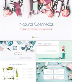 Natural Cosmetic Presentation PPT_00