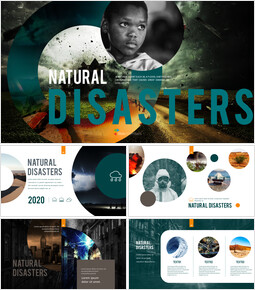 Natural Disasters PPT Background Images_00