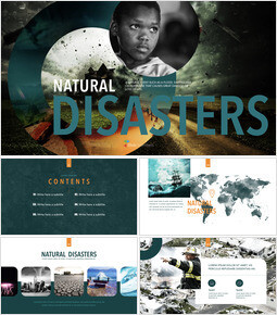 Natural Disasters Theme Keynote Design_00