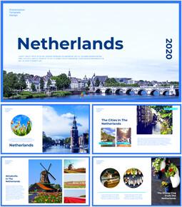 네덜란드 창의적인 파워포인트 프레젠테이션_00