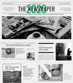 Newspaper Easy Google Slides Template_00