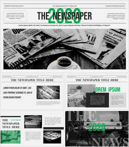 Newspaper Proposal Presentation Templates_00