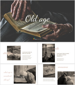 Old Age Google PowerPoint Slides_00