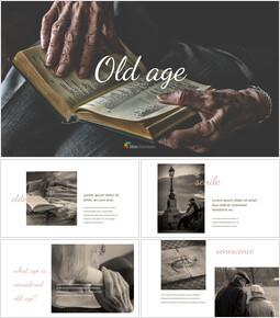 Old Age Google PowerPoint Slides_40 slides