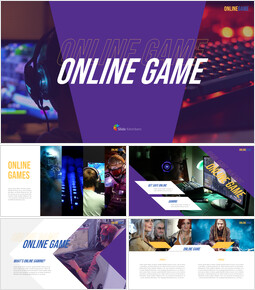 Online Game Background PowerPoint_00