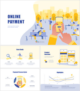 Online Payment Service Business Presentation Templates_00