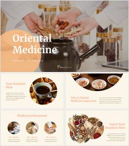 Oriental Medicine Simple Google Slides Templates_00