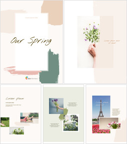 Our Spring Concept Vertical PowerPoint Templates for Presentation_00