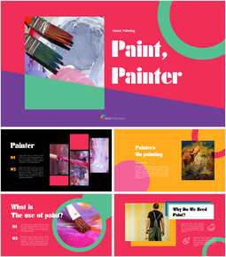 Paint, painter PowerPoint Presentation Slides_00