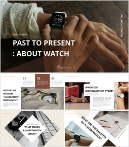 Past to present : About watch Ultimate Keynote Template_00