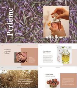 Perfume with Flower Keynote Design_00
