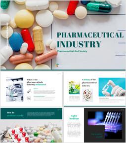 Pharmaceutical Industry Easy Slides Design_00