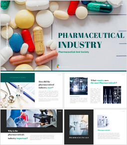 Pharmaceutical Industry Interactive PPT_40 slides