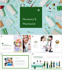 약국 및 약사 Google 슬라이드 테마 & 템플릿_00