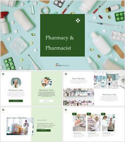 Pharmacy & Pharmacist Multipurpose Presentation Keynote Template_00