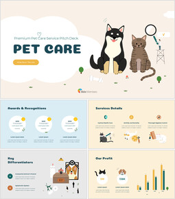 Premium Pet Care Service Google PowerPoint Slides_00