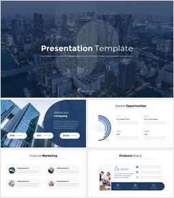 PowerPointのプレゼンテーションテンプレートPPTアニメーションスライド_00