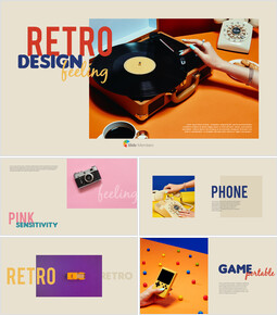 Retro Design PowerPoint deck Design_41 slides