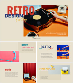 Retro Design Simple Google Slides Templates_00